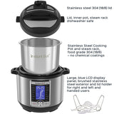 Instant Pot Ultra 6 Qt 10-in-1 Multi- Use Programmable Pressure Cooker, Slow Cooker, Rice Cooker, Yogurt Maker, Cake Maker, Egg Cooker, Sauté, Steamer, Warmer, and Sterilizer