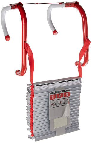 Kidde Three Story Fire Escape Ladder with Anti-Slip Rungs | 25 Foot | Model # KL-2S