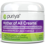 Puriya Dry Cracked Skin Moisturizer. Gentle Body Lotion, Hand, Foot, Face Cream. - Award Winning - Trusted by 300,000 Families - Plant Based Instant Lasting Relief. Hydrates and Softens Rough Skin