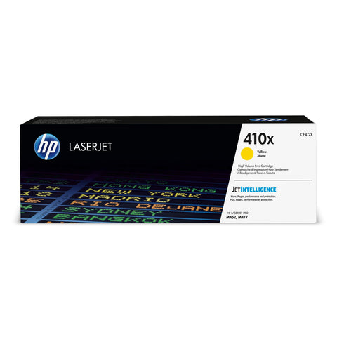 HP 410X | CF412X | Toner Cartridge | Yellow  | High Yield