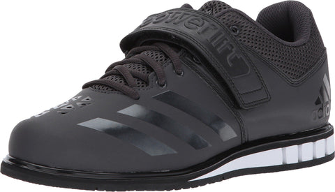 adidas Performance Men's Powerlift.3.1 Cross-Trainer Shoes, Utility Black/Black/White, (12 M US)