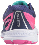 Saucony Women's Guide 10 Running Shoe, Teal/Navy/Pink, 12 M US