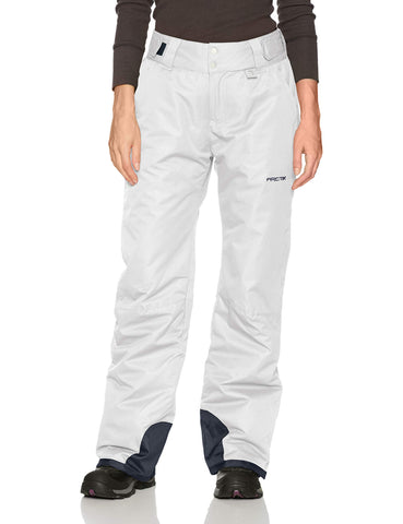 Arctix Women's Insulated Snow Pants, White, X-Large/Regular