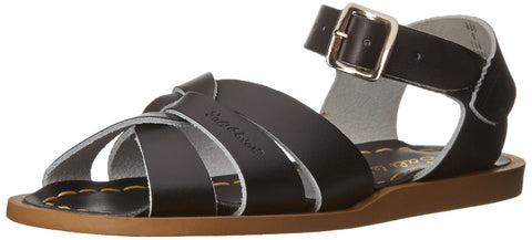 Salt Water Sandals by Hoy Shoe Original Sandal (Toddler/Little Kid/Big Kid/Women's), Black, 9 M US Toddler