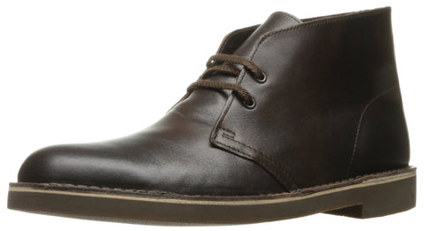 Clarks Men's Bushacre 2 Chukka Boot, Chocolate, 9.5 M US