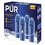 PUR Basic Water Pitcher 2-Stage Replacement Filter (4 Pack)