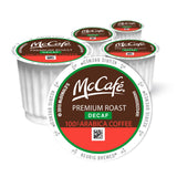 McCafé Premium Roast Decaf Coffee K-Cup Pods, 100 Count