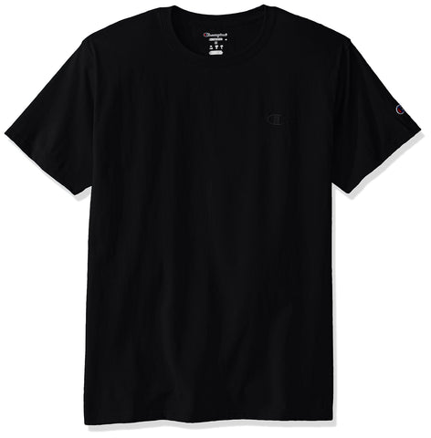 Champion Men's Classic Jersey T-Shirt, Black, XL
