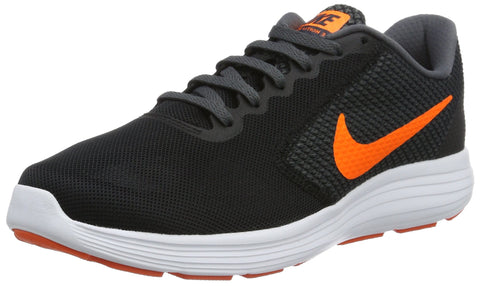 Nike Men's Revolution 3 Running Shoe, Black/Total Orange/Dark Grey/Turf Orange, 10 M US