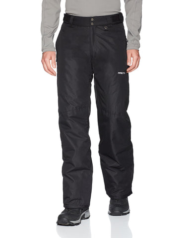 Arctix Men's Essential Snow Pants, Black, Medium/Short