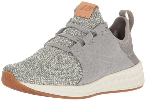 New Balance Women's Fresh Foam Cruz v1 Running Shoe, Grey/Sea Salt, 9.5 B US