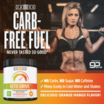 Keto Drive BHB Salts - Exogenous Ketone Performance Complex - Formulated for Ketosis, Energy and Focus - Patented Beta-Hydroxybutyrates (Calcium, Sodium, Magnesium) - Orange Mango