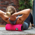 TriggerPoint GRID Foam Roller with Free Online Instructional Videos, Original (13-inch), Pink