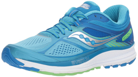 Saucony Women's Guide 10 Running Shoe, Light Blue, M