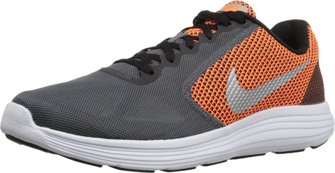 Nike Men's Revolution 3 Running Shoe, Dark Grey/Metallic Silver/Black, 11.5 D(M) US