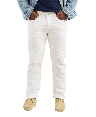 Levi's Men's 501 Original Fit Jean,Optic White,28x30