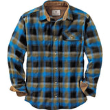 Legendary Whitetails Buck Camp Flannels Cobalt Plaid Large Tall