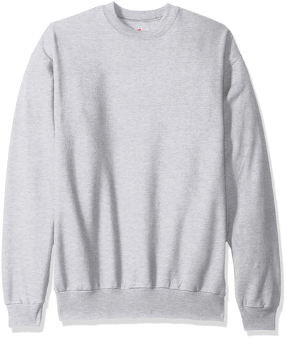 Hanes Men's EcoSmart Fleece Sweatshirt, ash, XL