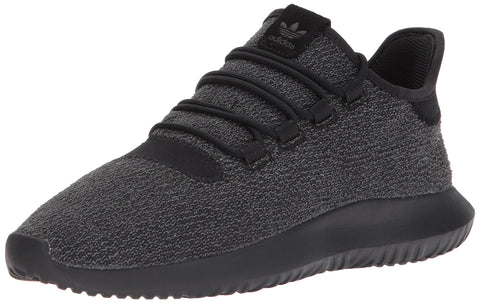adidas Originals Men's Tubular Shadow Running Shoe, Black, 8.5 Medium US