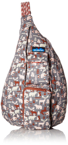 KAVU Women's Rope Bag, Wild Woods, One Size