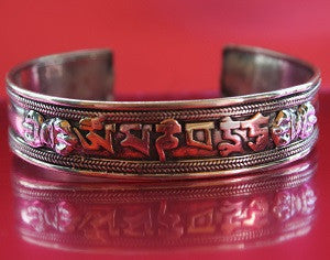 THE SANSKRIT POWER BRACELET™. BUDDHA BUDDHIST TIBETAN SHAMAN TALISMAN AMULET OF PROTECTION AND POWER.