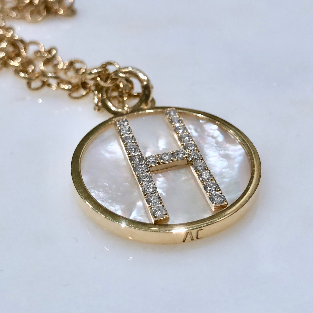 AC Personalised Letter Necklace