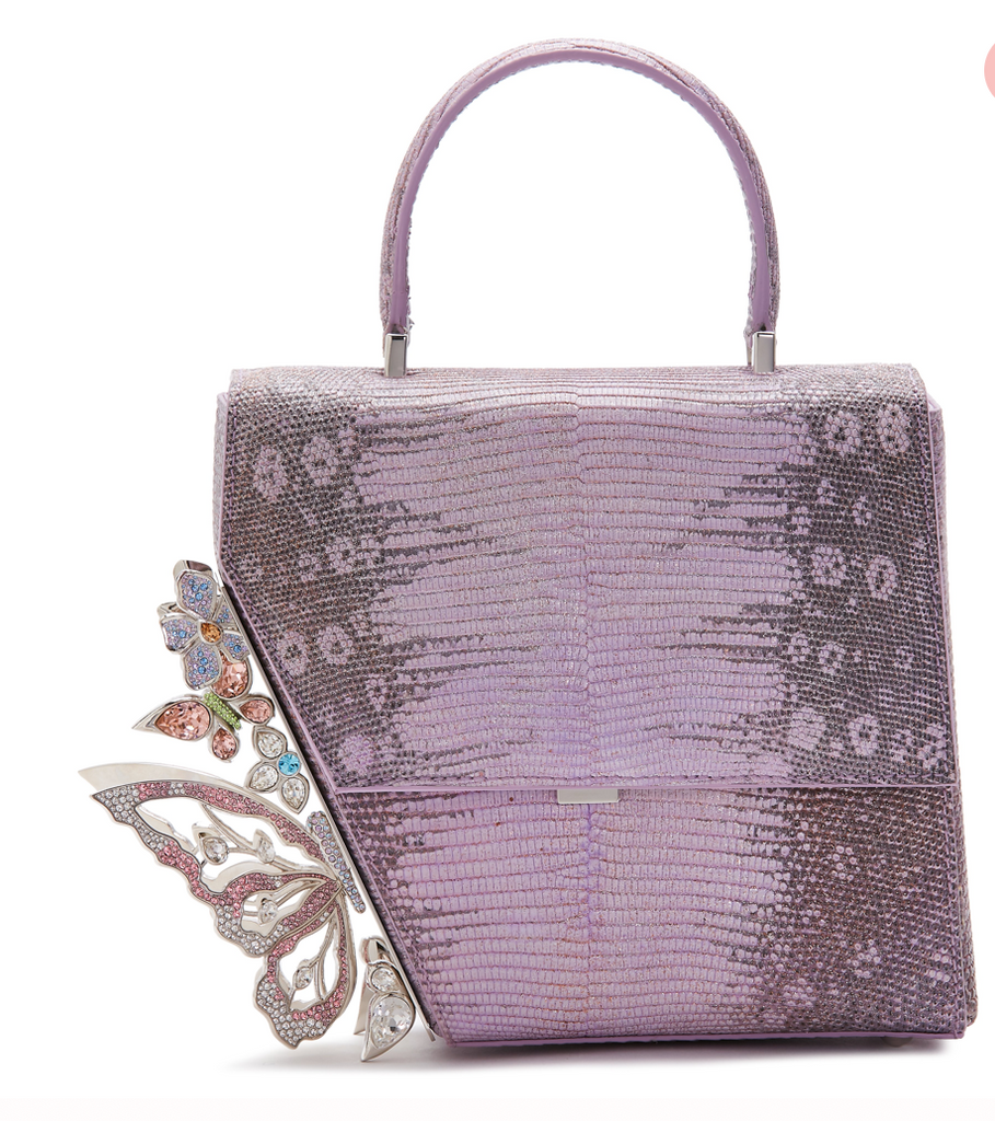 Asymmetric Crafted Lizard Bag