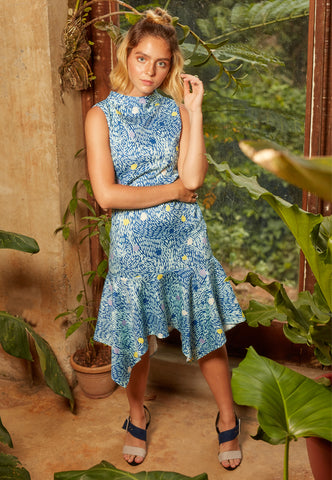 Edenburg Dropwaist Dress