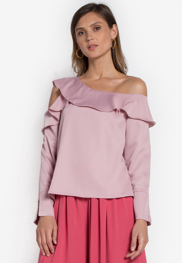 Aurora Ruffle Top - TM