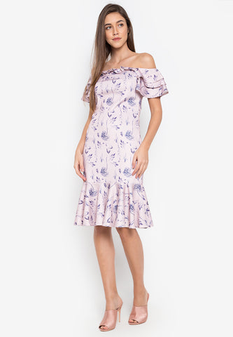 Durham Off Shoulder Dress