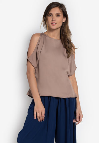 Amos Cold Shoulder Top