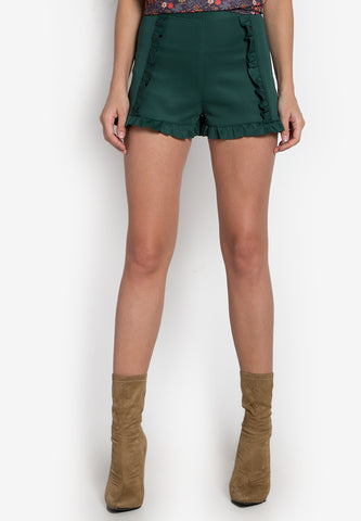 Alston Ruffled Shorts