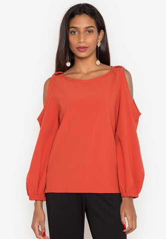 Ziggy Cold Shoulder Top