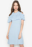 Yves Ruffle Dress