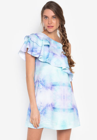 Finland Ruffle Dress - TM