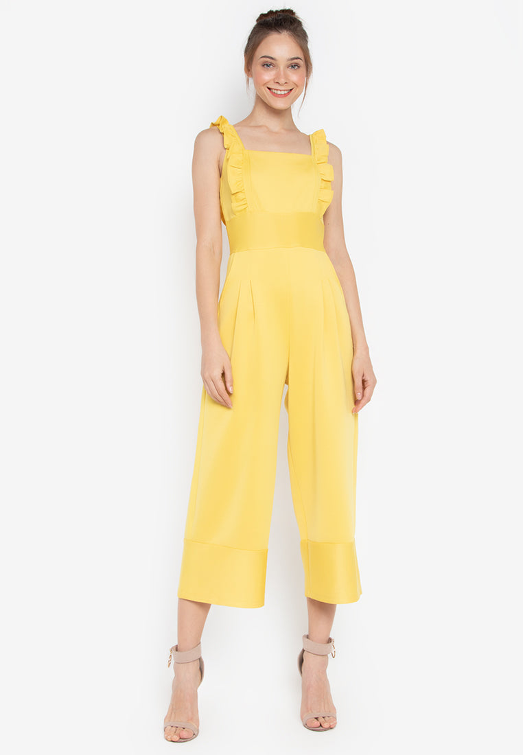Glasgow Cropped Jumpsuit - TM