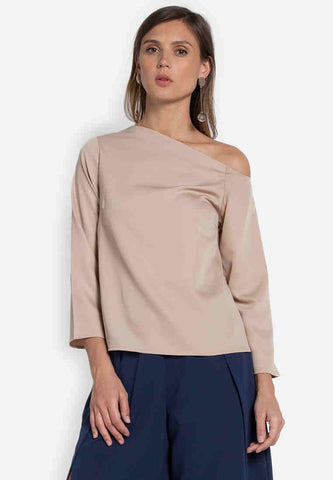 Zara Asymmetric Top