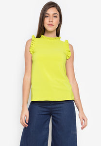 Dublin Ruffle Top - TM