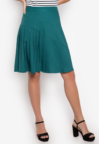 Vinci Pleated Skirt