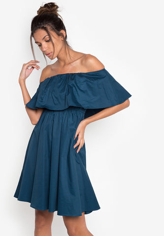 North Off Shoulder Dress -  - 1