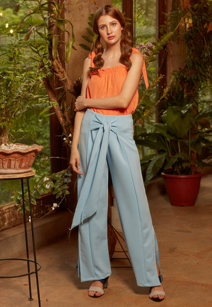 Everett Wide Leg Pants - TM
