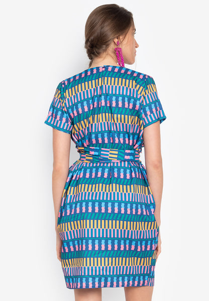 Glendale Dress with Front Twist - TM