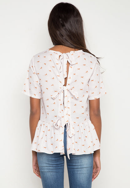 Zayne Top w/ Back Ribbon