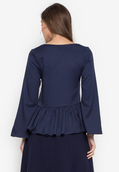 Chandler Peplum Top - TM