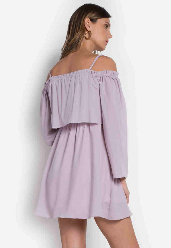 Agua Cold Shoulder Dress