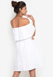North Off Shoulder Dress