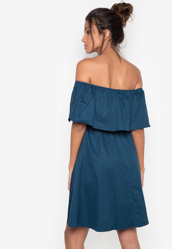 North Off Shoulder Dress -  - 3