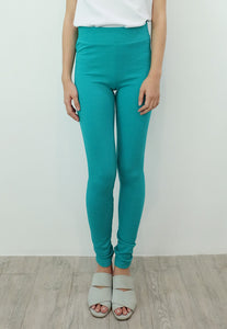 Textured Leggings (Teal)