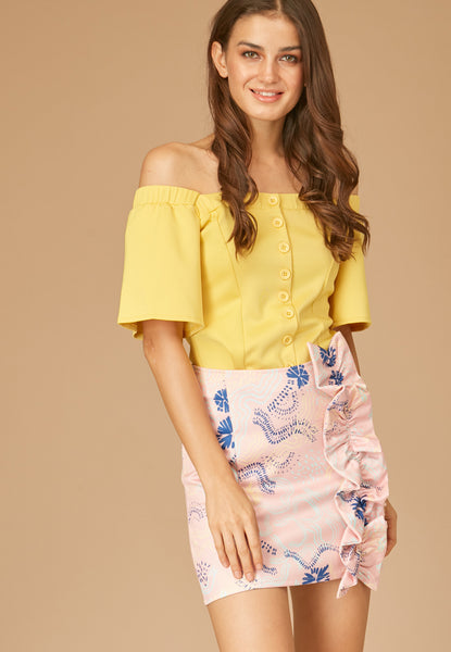 Haiku Off Shoulder Top - TM