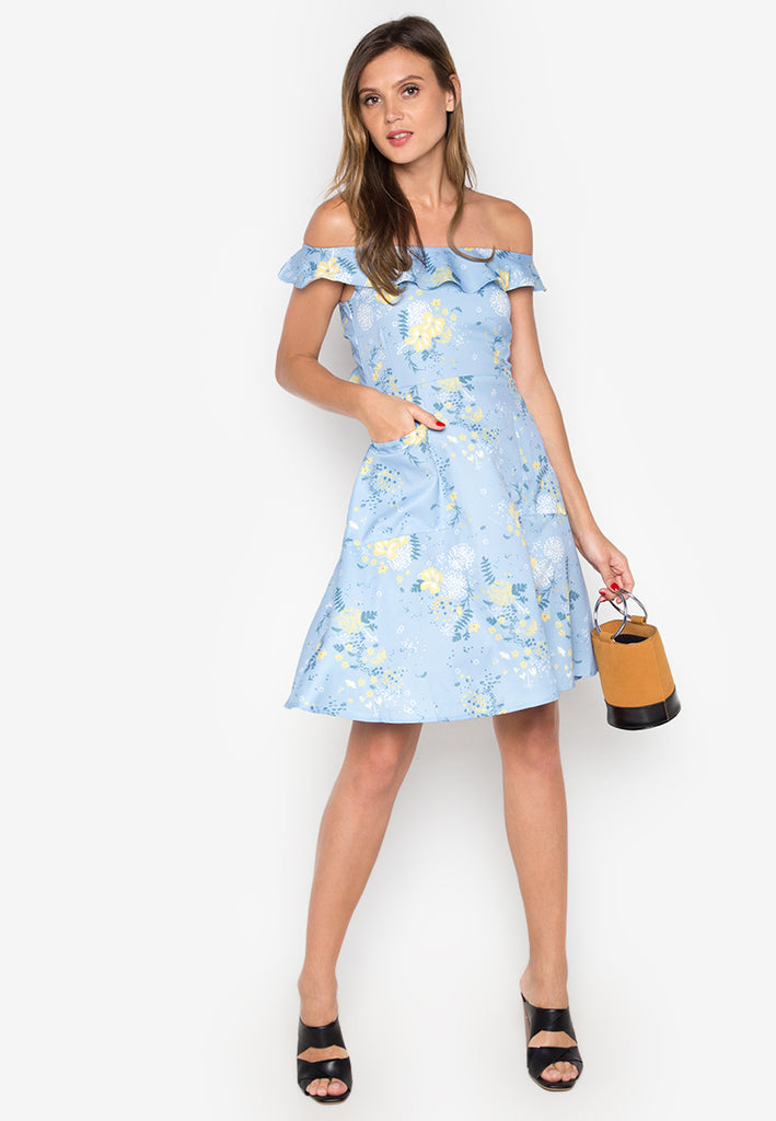 Warren Dress with Bow